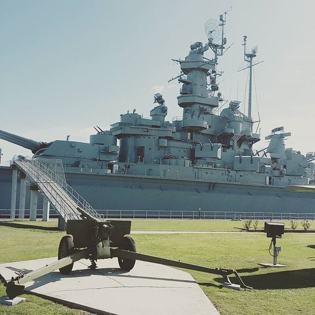 Just an hour from the Orange Beach Condo just outside of Mobile is the USA Alabama warship. USSAlabama battleship alabama OrangeBeachCondo OrangeBeach