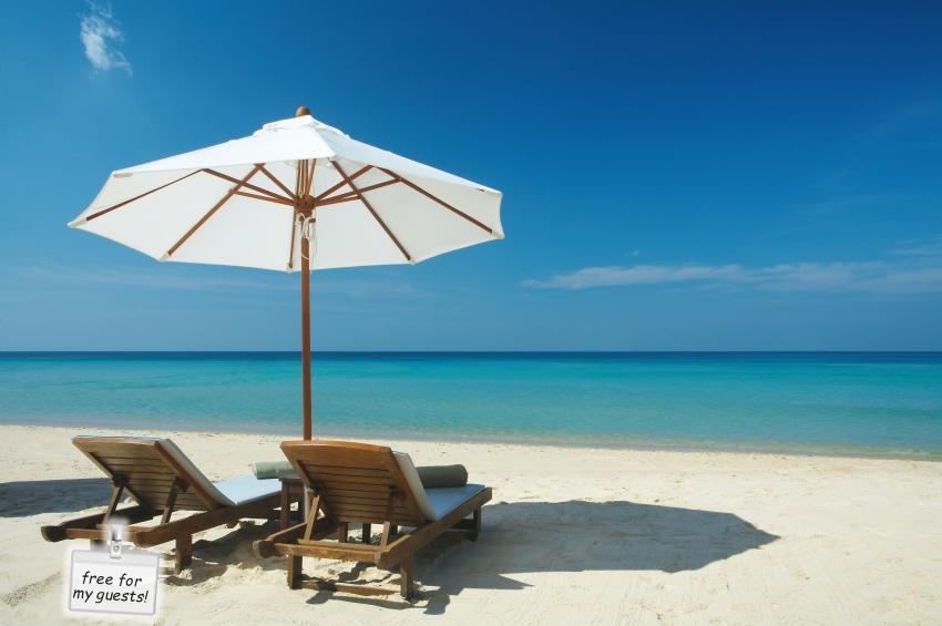 free beach chairs Orange Beach