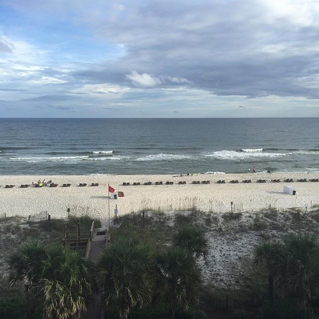 Labor Day 2016. Scattered rain storms have vacated the beach chairs. Peace and serenity comes with having the beach all to yourself.  Enjoy your Labor Day too. #orangebeachcondo #rainybeachdays #laborday #relaxtime