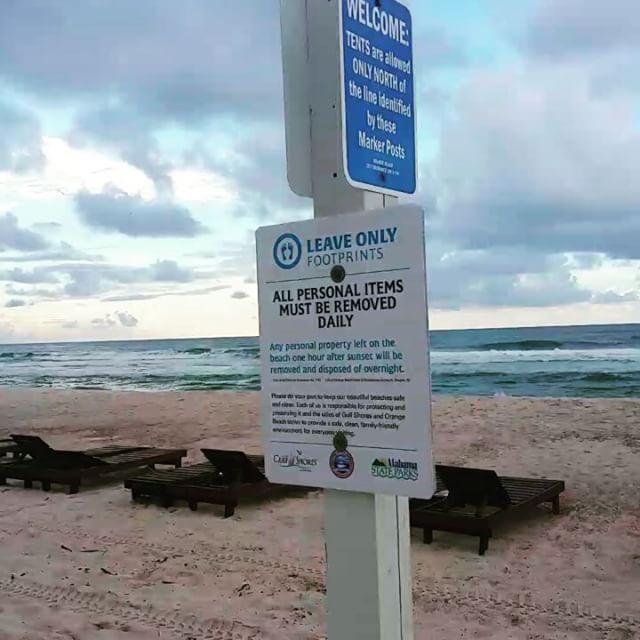 Get your signs off our beach @gulfshoresorangebeach !! #leaveonlyfootprints  #gulfshores #orangebeach #alabama #beach #PerdidoKey #signssignseverywherearesigns  #signssignseverywheresigns #sand #ocean #gulf #whodoyouthinkyouare