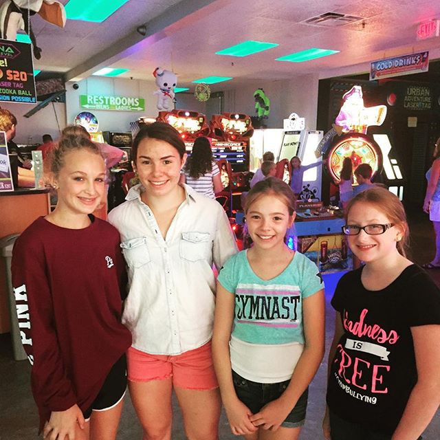 Arcade fun with games, friends, laser tag and bazooka ball! Life is good at the Wharf in Orange Beach Alabama. #hangingwithfriends #lasertag #arcadegames #wharf #wharfatorangebeach
