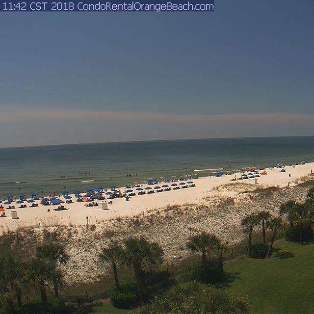 Live view from Orange Beach Condo. Visit CondoRentalOrangeBeach.com for live views any time  #OrangeBeach #OrangeBeachCondo #OrangeBeachLiveCam #GulfShores