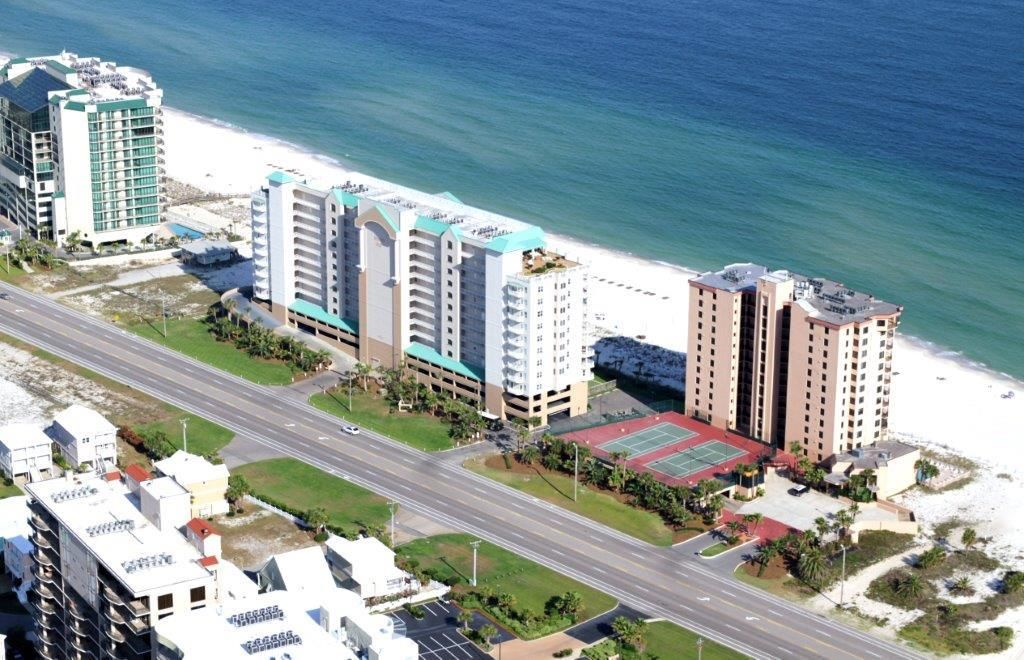 Aerial view of Regency Isle Orange Beach