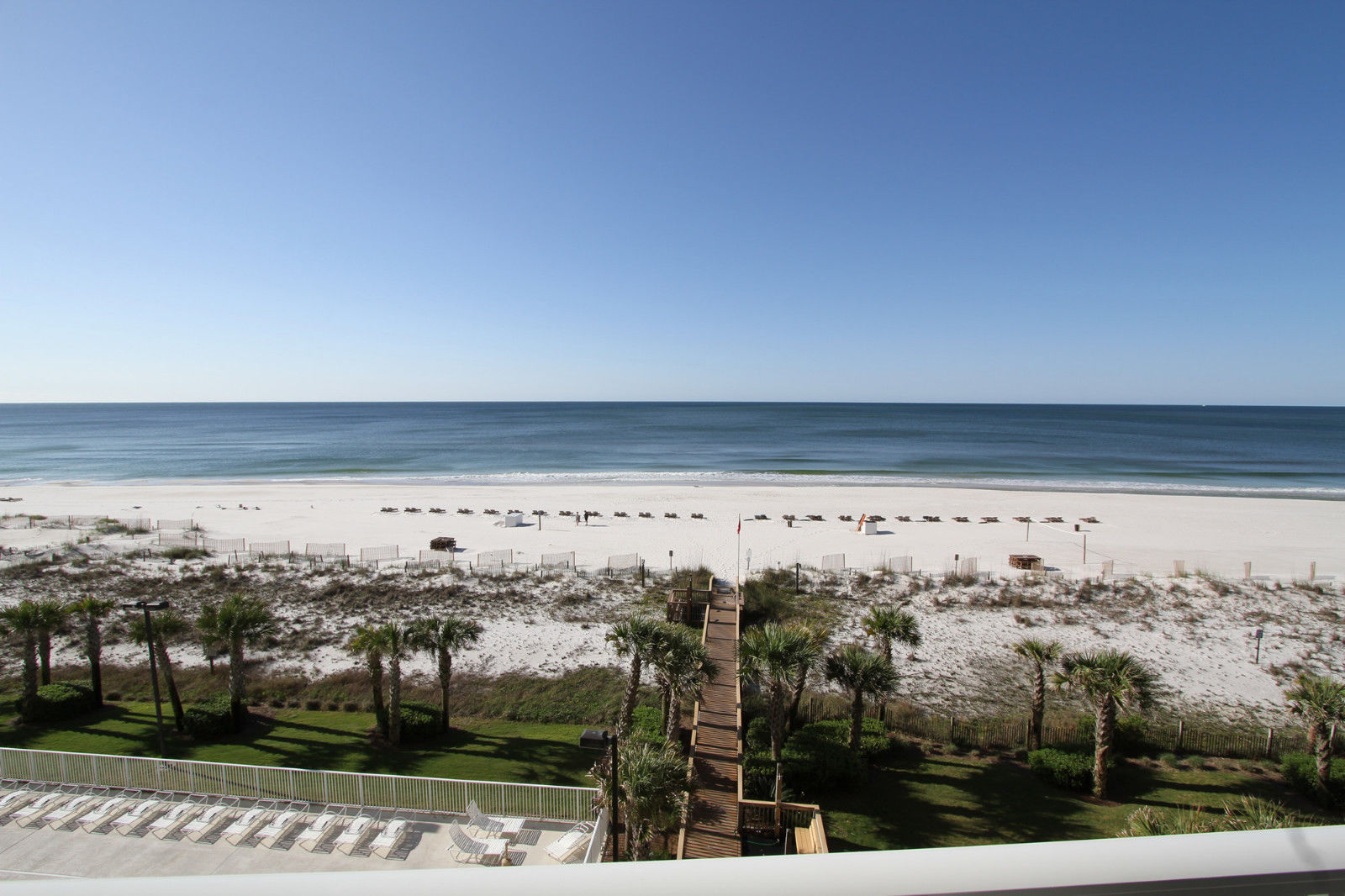 View from the balcony at our Regency Isle Condo